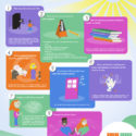 How to prepare for your first music lesson infographic
