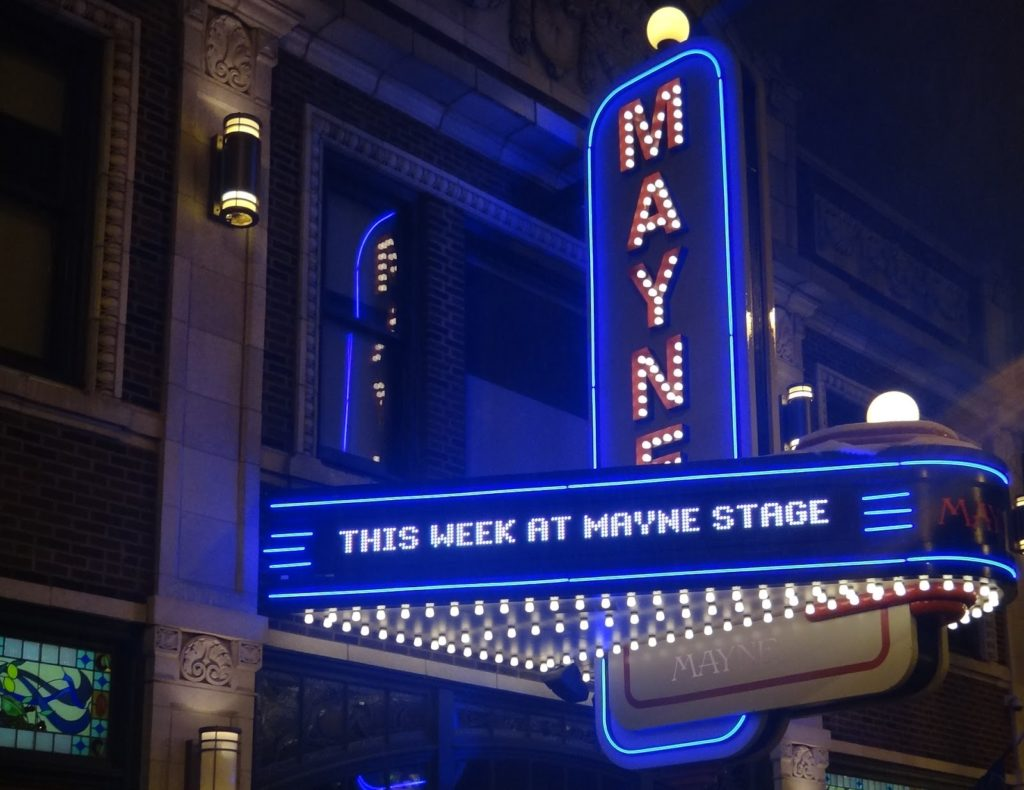 Mayne Stage marquee