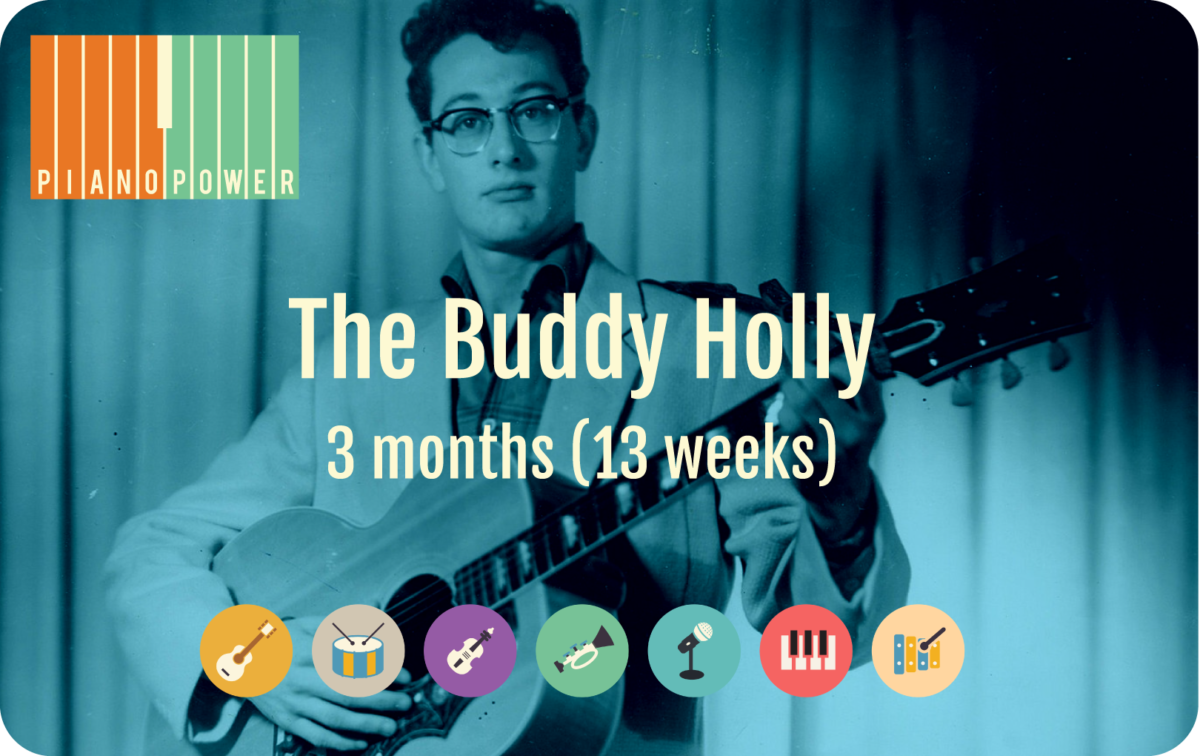 gift card with Buddy Holly